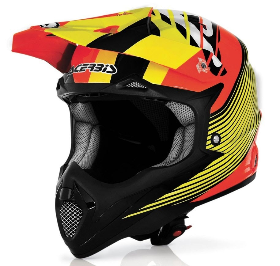 acerbis impact motorcycle bombshell helmet enduro. Black Bedroom Furniture Sets. Home Design Ideas