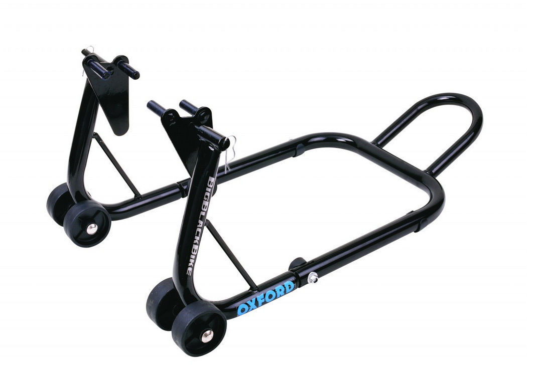 Oxford Front Road Bike Lift Stand Big Black Paddock
