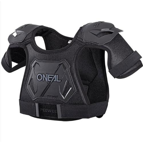 ONEAL KIDS PEEWEE BLACK CHEST PROTECTOR BODY ARMOUR