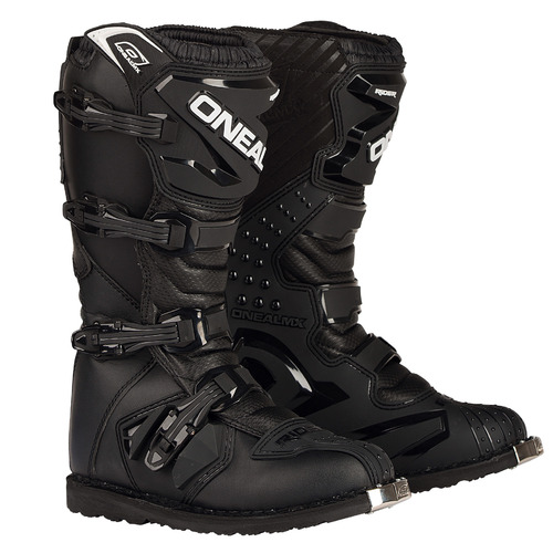 ONEAL RIDER MOTORCYCLE MOTOCROSS KIDS BOOTS - BLACK YOUTH PW
