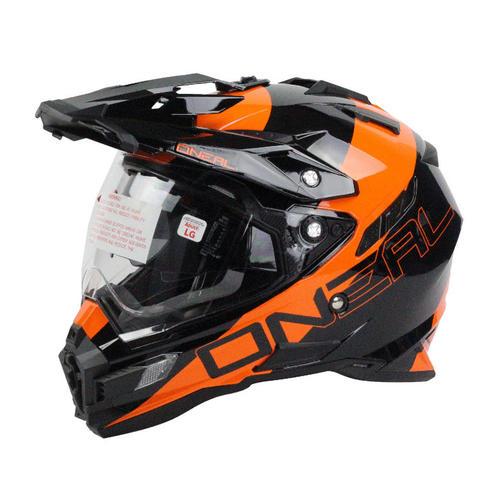Oneal Sierra Dual Purpose Motorcycle Adventure Helmet Orange