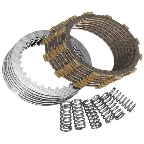KAWASAKI KLX650 1993 - 1996 CLUTCH PLATE KIT FIBRES STEELS & SPRINGS KLX650