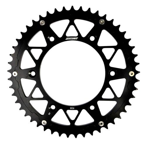 YAMAHA YZ YZF WRF 01-17 STATES MX SPROCKET 48T HYBRID STEEL ALLOY BLACK