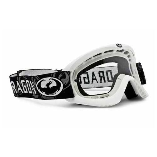 DRAGON JUNIOR MOTOCROSS MX GOGGLES - KIDS YOUTH GOGGLE WHITE