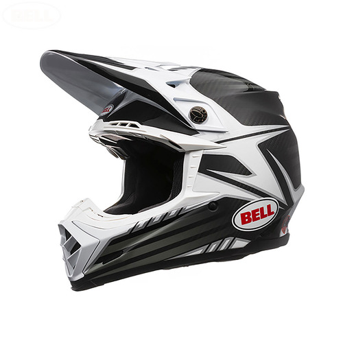 BELL MOTO 9 CARBON PINNED MOTOCROSS ENDURO HELMET