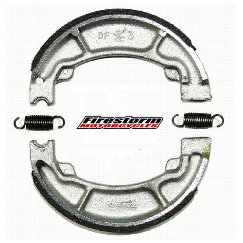 BRAKE SHOES - FITS HONDA CT110 POSTIE BIKE REAR PRE 99 CT 110 OVERSIZE