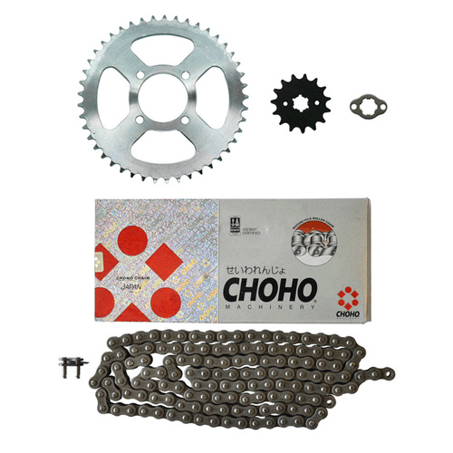 HONDA CT110 POSTIE MOTORCYCLE X-RING CHAIN / SPROCKET KIT - CT 110 X # CKIT4