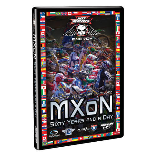 DVD MXON MOTOCROSS OF NATIONS - SIXTY YEARS AND A DAY - 60TH MXDN 2007