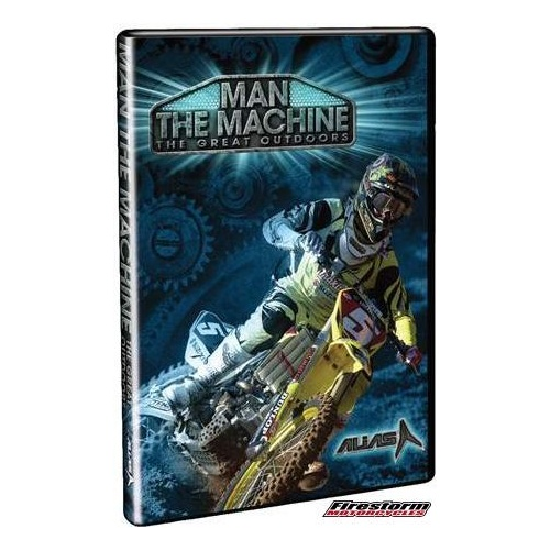 DVD THE GREAT OUTDOORS - MAN THE MACHINE - TGO MOTOCROSS