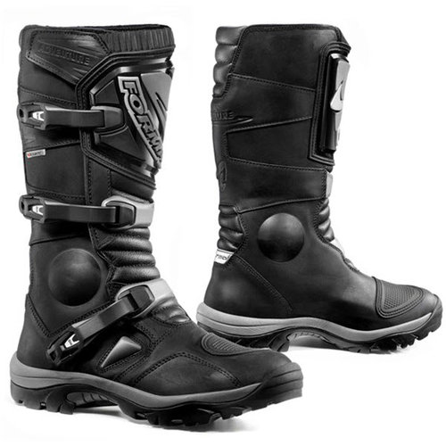 FORMA ADVENTURE MOTORCYCLE BOOTS - TRAIL ENDURO MOTARD - BLACK