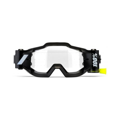 100% FORECAST FILM ROLL OFF SYSTEM TO FIT ACCURI MX MOTOCROSS GOGGLES