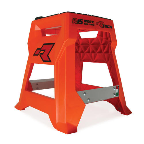 RACETECH R15 MOTORCYCLE WORX BIKE STAND KTM ORANGE