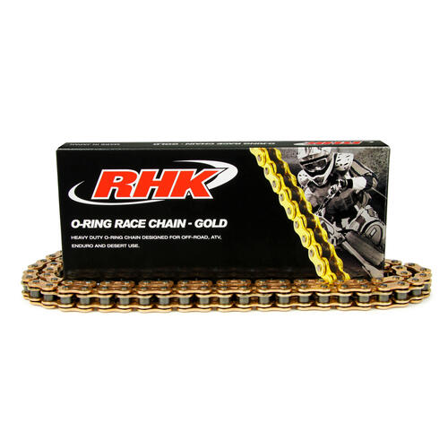 HONDA XR600 RHK 520 HEAVY DUTY GOLD O-RING CHAIN