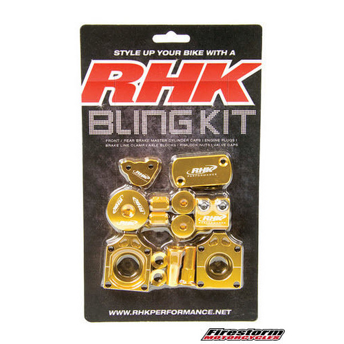 KAWASAKI KLX 450 - RHK BLING KIT - KLX450 2008 - 2014 GOLD
