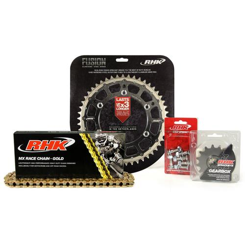 RHK FUSION ALLOY INNER STEEL OUTER CHAIN AND SPROCKET KIT