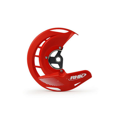HONDA CRF450 2004 - 2015 RHK FRONT DISC COVER GUARD RED CRF 450 R