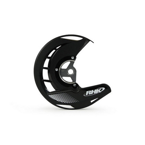 KAWASAKI KX250F 2006 - 2015 RHK FRONT DISC COVER GUARD BLACK KXF250