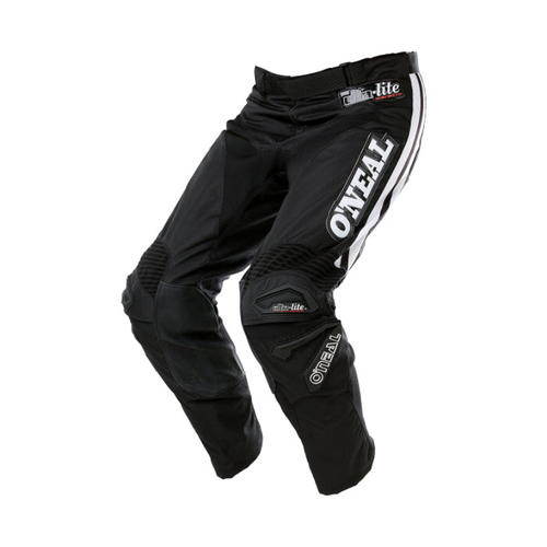 ONEAL ULTRA-LITE 75 MOTOCROSS MX PANTS BLACK/WHITE ADULT 2018