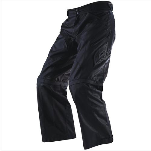 ONEAL 2019 APOCALYPSE PANTS MOTOCROSS ENDURO ADVENTURE ZIP-OFF SHORTS BLACK