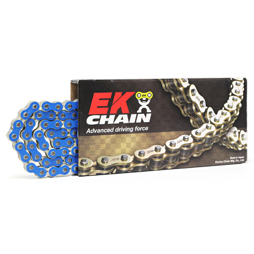 HONDA CRF80F 2004 - 2014 EK 420 HEAVY DUTY MOTOCROSS CHAIN BLUE 136L