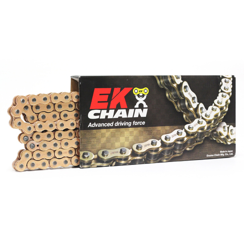 KTM 250 SX 1994 - 2020 EK 520 QX-RING GOLD CHAIN 120L