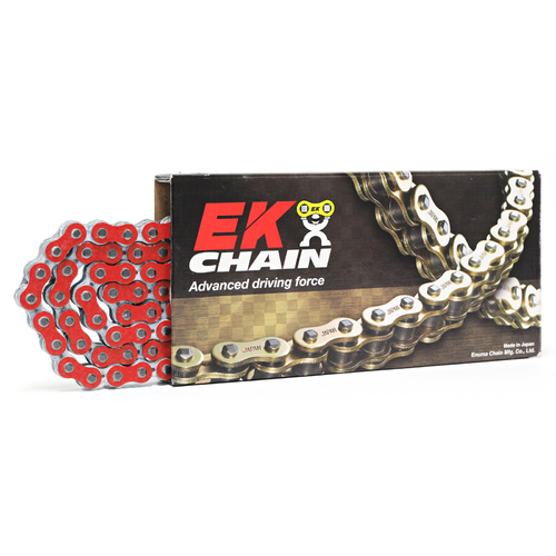 KTM 1290 SUPER DUKE GT 2016 - 2018 EK 525 NX-RING SUPER HEAVY DUTY RED CHAIN 124L
