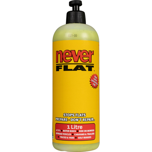 NEVER FLAT LIQUID PUNCTURE TYRE SEALANT 1L