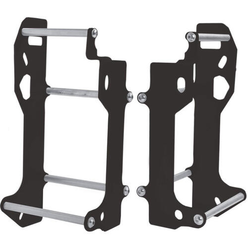 SUZUKI RMX450 2010 - 2019 CROSSPRO ALUMINIUM RADIATOR GUARD BLACK
