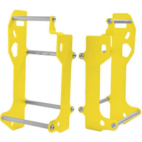 SUZUKI RMX450 2010 - 2019 CROSSPRO ALUMINIUM RADIATOR GUARD YELLOW