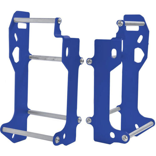 HUSQVARNA FE450 2014 - 2014 CROSSPRO ALUMINIUM RADIATOR GUARD BLUE