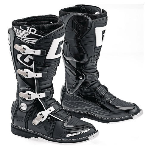 GAERNE SG-10 ADULTS MOTOCROSS MX BOOTS BLACK