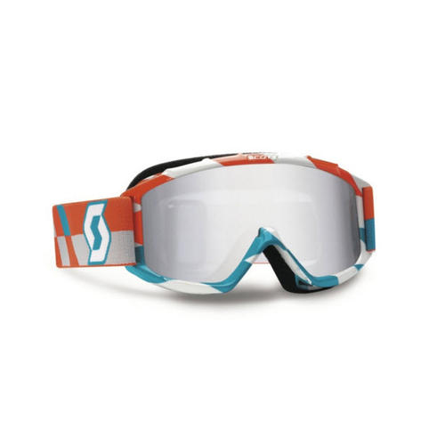 SCOTT YOUTH MX GOGGLES 89SI PRO TRACK ORANGE BLUE MOTOCROSS GOGGLE