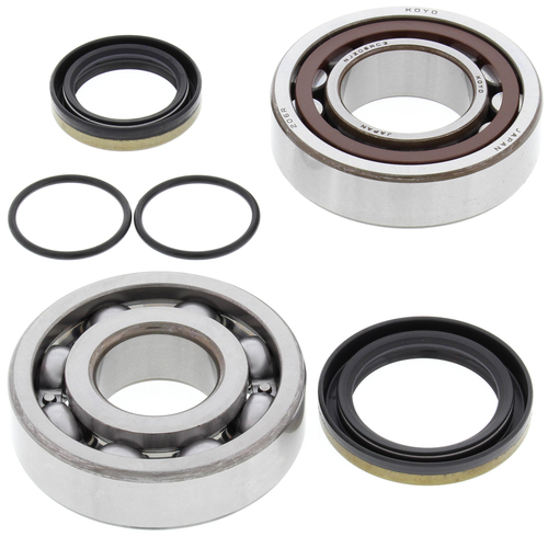 KTM 200 EXC 1998 - 2016 MAIN BEARINGS & CRANK SEAL KIT ALL BALLS
