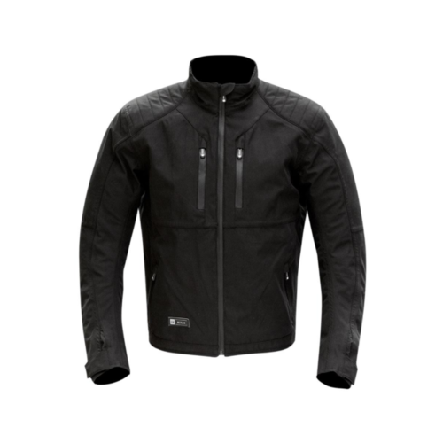 MERLIN MOTORCYCLE JACKET ORBITAL WATERPROOF JACKET WITH REISSA WP LINER AND CE ARMOUR BLACK