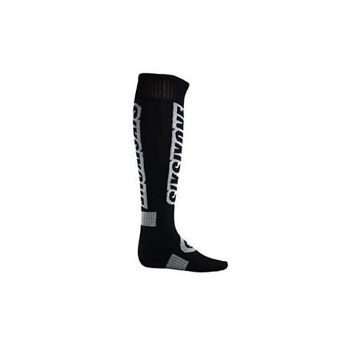 SIX SIX ONE MX-4 SERIES BLACK THICK RIDING MOTOCROSS 661 SOCKS LG/XL