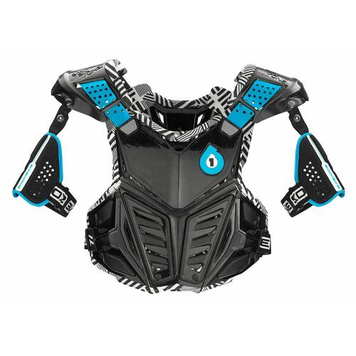 661 PRODIGY ADULT MX  MOTOCROSS BODY ARMOUR BLACK ADULT