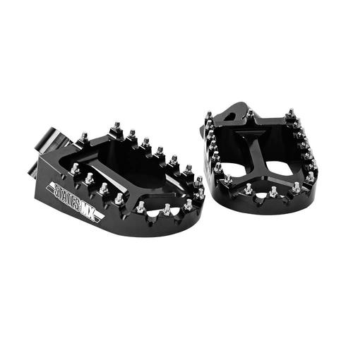 HONDA CRF450X 2002 - 2016 BLACK ALLOY FOOTPEGS