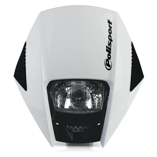 BETA 350 RR POLISPORT EXURA UNIVERSAL ENDURO HEADLIGHT WHITE