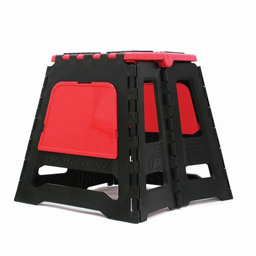 POLISPORT FOLDING MOTORCYCLE DIRT BIKE RACE STAND - RED