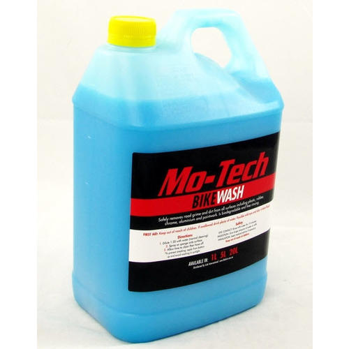 MO-TECH 5L HEAVY DUTY MOTORCYCLE CAR BIKE WASH