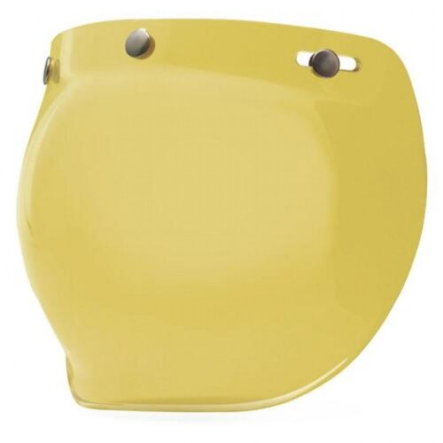BELL 3 SNAP BUBBLE VISOR YELLOW