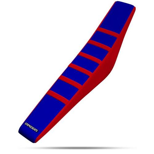 BETA 390 RR 2013 - 2016 STRIKE GRIPPER RIBBED SEAT COVER RED-BLUE-RED