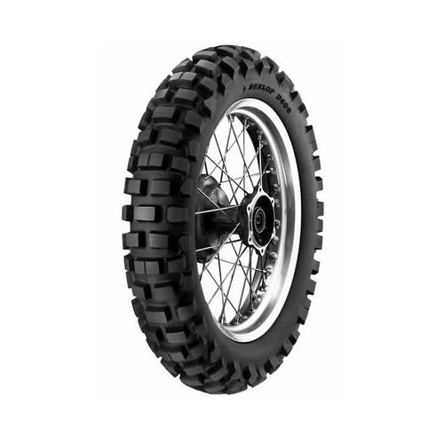 DUNLOP D606 130/90-17 DOT KNOBBY REAR TYRE