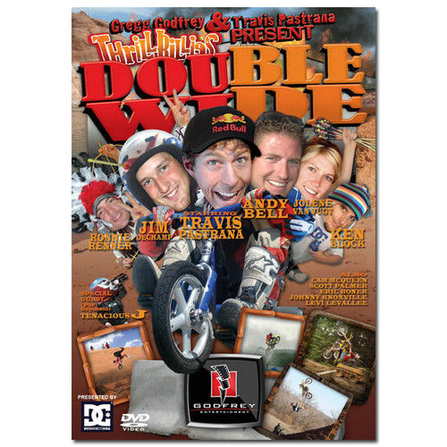 DVD THRILLBILLIES 2 DOUBLE WIDE - TRAVIS PASTRANA NITRO CIRCUS 6