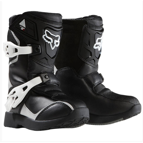 FOX COMP 5K BLACK PEEWEE TODDLER MOTOCROSS MX BOOTS