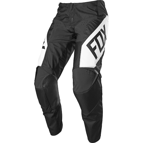 FOX 2021 180 REVN MX PANTS - BLACK/WHITE