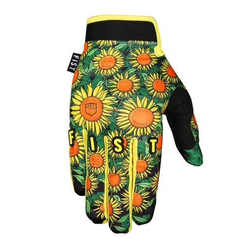 FIST MX MOTORCYCLE STRAPPED GLOVES SUNFLOWER