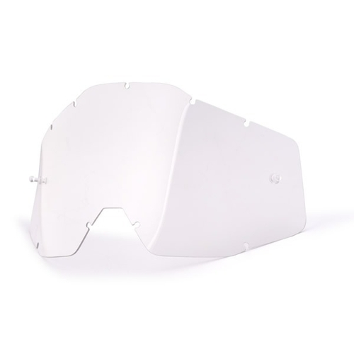FOX GOGGLES LENSE MX ANTI FOG CLEAR SINGLE