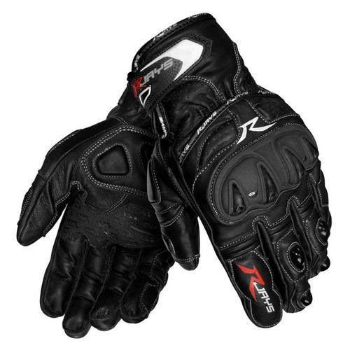 RJAYS CANYON BLACK MENS MOTORCYCLE GLOVES