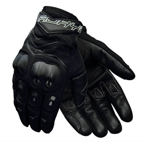 RJAYS SKID MENS ROAD GLOVES BLACK